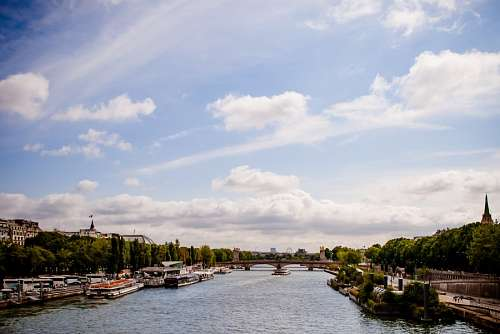 imágenes gratis Rio Sena, Paris