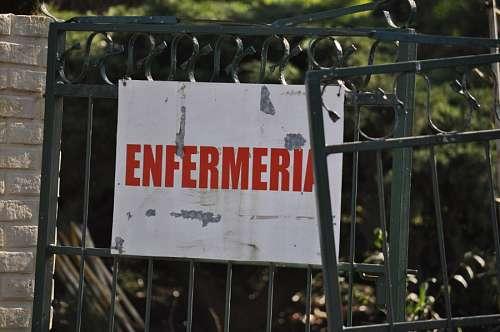 Cartel Enfermeria