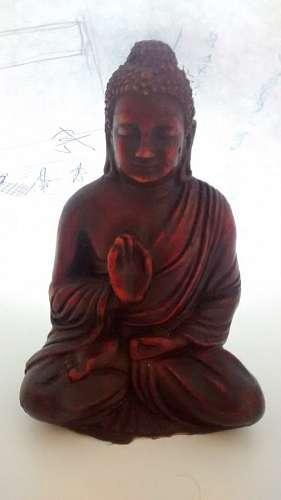 imágenes gratis Buda, estatua, estatuilla, meditacion, rojo, decor