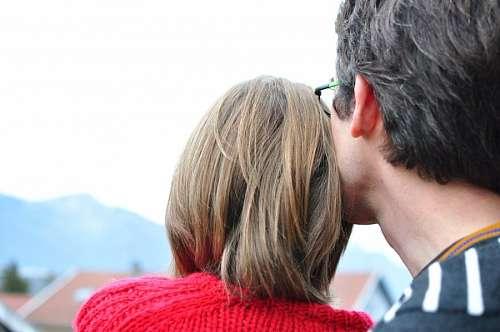 imágenes gratis Hombre amoroso con su esposa