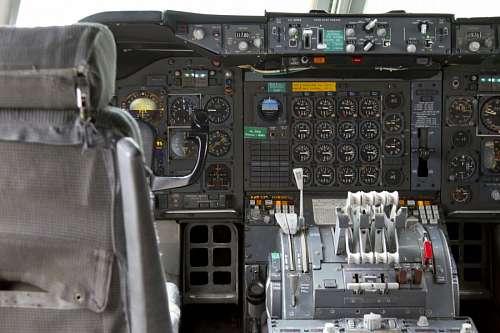 imágenes gratis Cabina de Avion