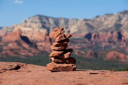 imágenes gratis Pila de Rocas