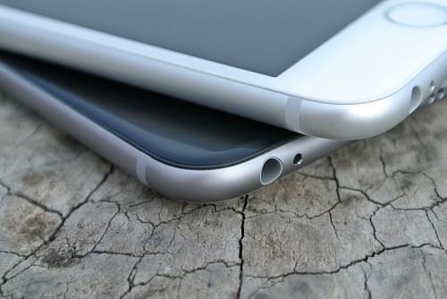 Iphones encimados