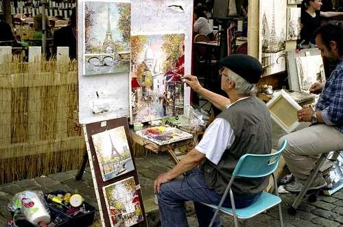imágenes gratis Pintor