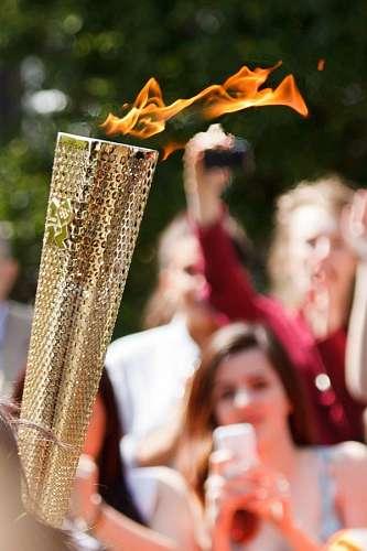 imágenes gratis Antorcha olimpica