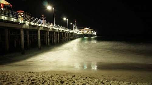 Muelle nocturno