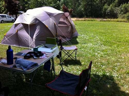 carpa, camping, campamento, acampar, nadie, aire l