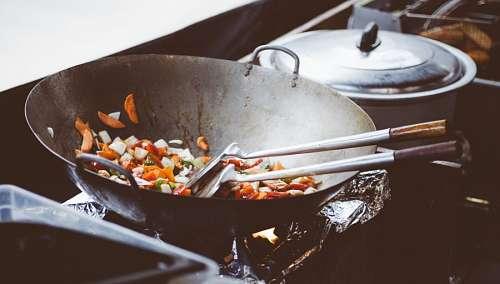 Vegetales salteados al wok