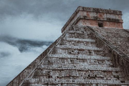 Paisaje de Chichém Itzá, Mexico