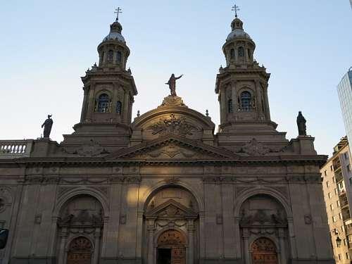 imágenes gratis Plaza de Armas en Santiago de Chile