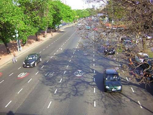 Calle vista Aerea