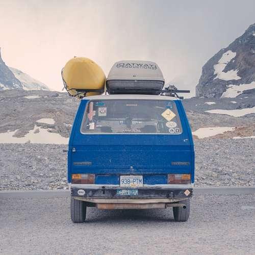 Camioneta Azul