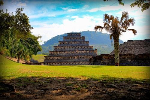 Pirámide en Veracruz, México