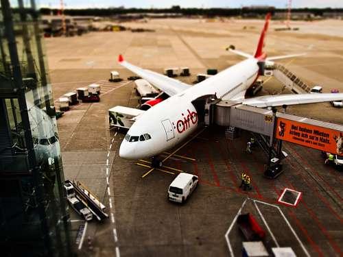 imágenes gratis Avion de linea