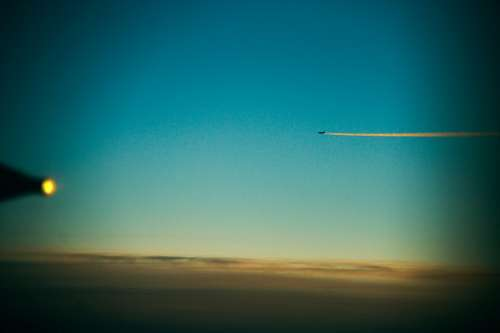 imágenes gratis avion, cielo, clouds, flying, nubes, plane, sky, v