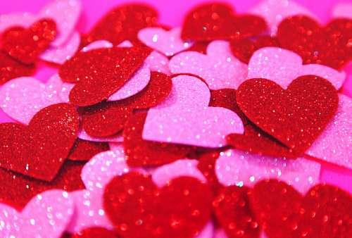 Corazones Amor Concepto