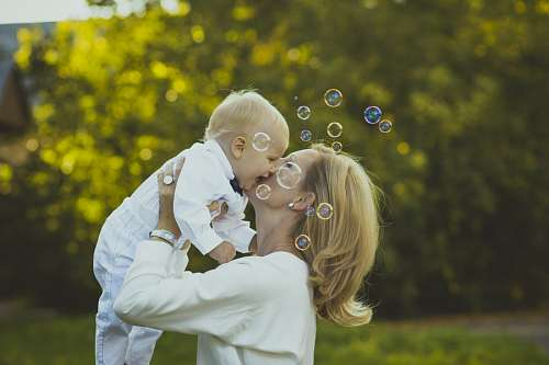 imágenes gratis Conexión única entre madre e hijo