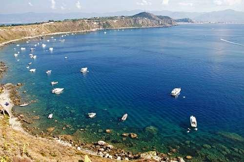 imágenes gratis Golfo di Milazzo, Levante, Italia,