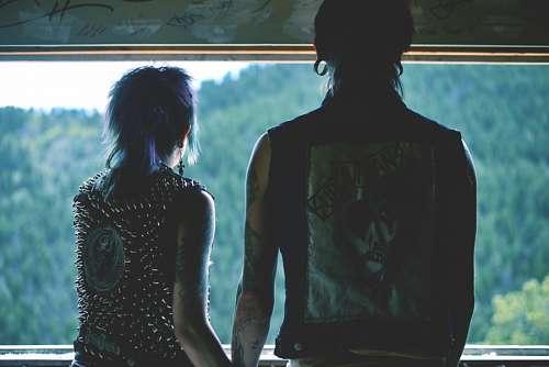 Enamorados con estilo Punk