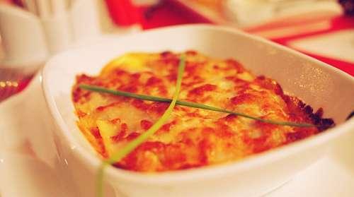 imágenes gratis Lasagna