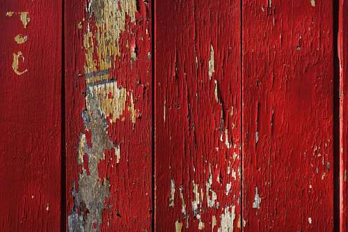 Textura Madera Pintura Roja