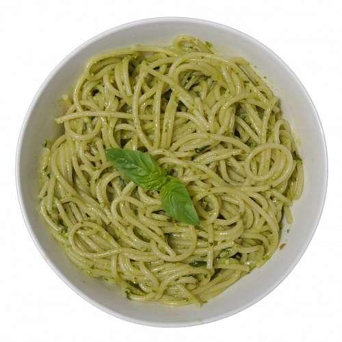 imágenes gratis Plato de Pastas al Pesto