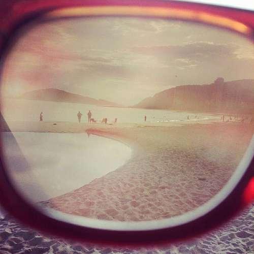 lente, lentes de sol, gafas, verano, soleado, play