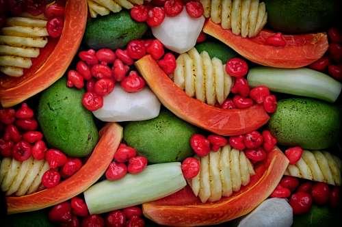 imágenes gratis Ensalada de frutas