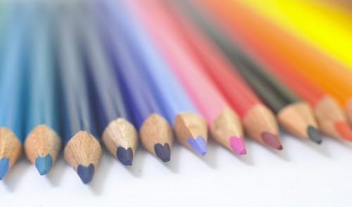 imágenes gratis Arte con Lapices de Colores