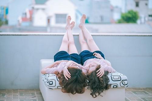 imágenes gratis Pareja de mujeres lesbianas