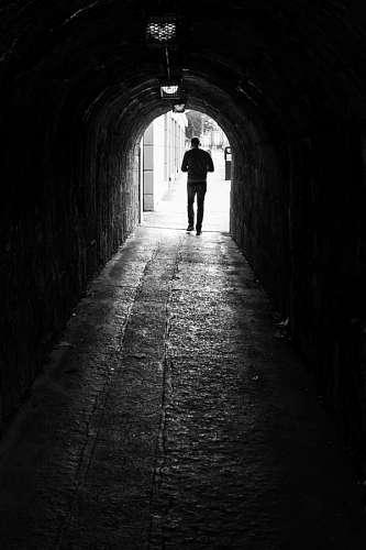 imágenes gratis Final del Camino, Tunel