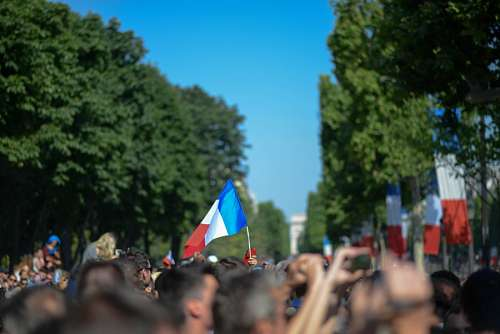 imágenes gratis Bandera de francia