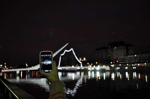imágenes gratis Puente de la Mujer, Buenos Aires, Argentina