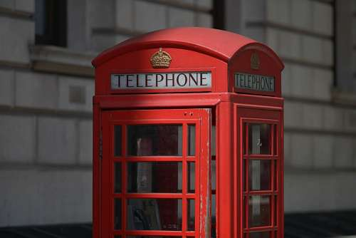 imágenes gratis Cabina de Telefono en Londres