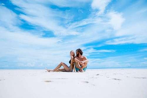 imágenes gratis Pareja en la playa