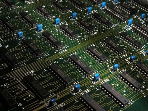 imágenes gratis Circuito electronico