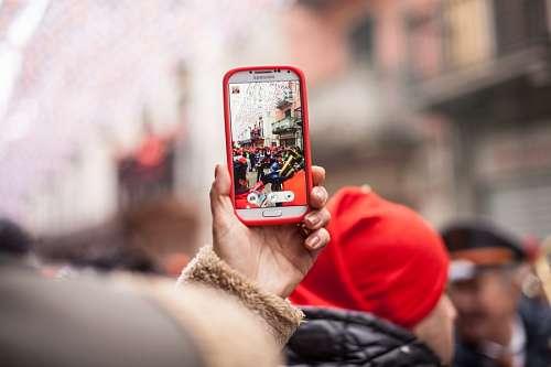 imágenes gratis Telefono Celular Tomando Fotos