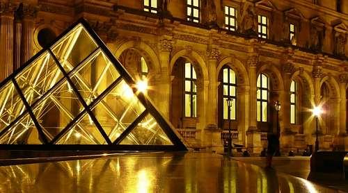 imágenes gratis Louvre, Paris