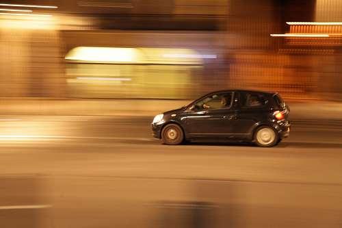 Auto en Movimiento