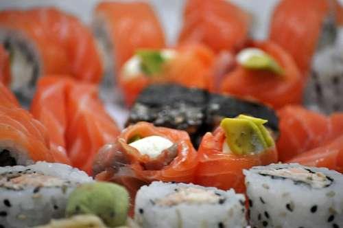 imágenes gratis Sushi Variedad