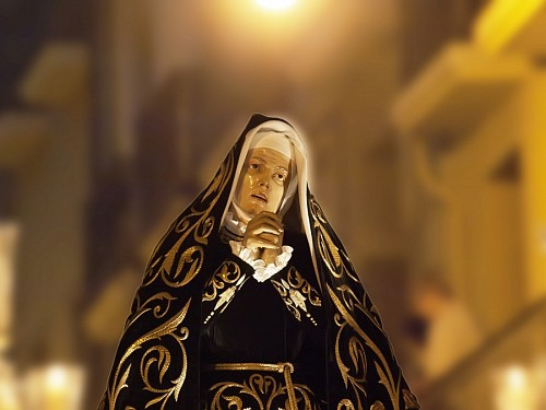 imágenes gratis Virgen de Pamplona, España