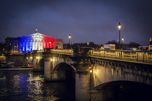 Puente en París, Francia