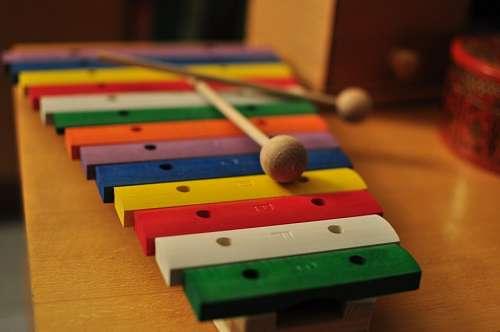 juego, juguete, madera, musica, xilofon, color, co
