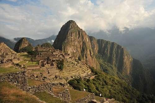 imágenes gratis Machu Picchu, Peru