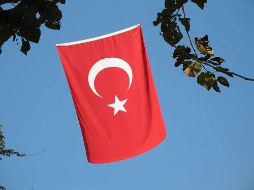 imágenes gratis Bandera de Turquia