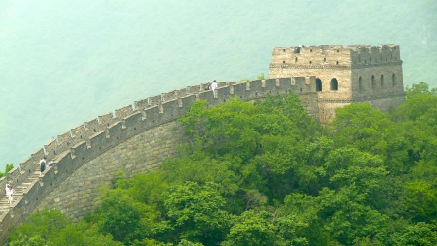 Imagen de muralla china foto gratis for Arquitectura del mundo antiguo