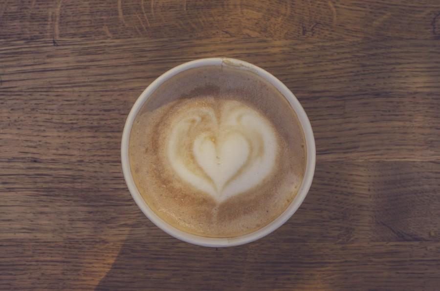 cafe, taza, corazon, arte, bebida, primer plano, espuma, espumoso, desayuno,