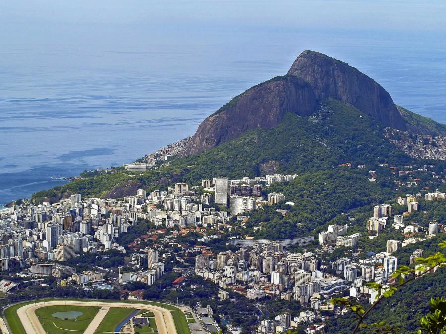 Rio De Janeiro, Capital, Dia, Verano, Bahia, Guanabara, ciudad, Paisaje, America Del Sur, America, Latino, Brasil, Morro,