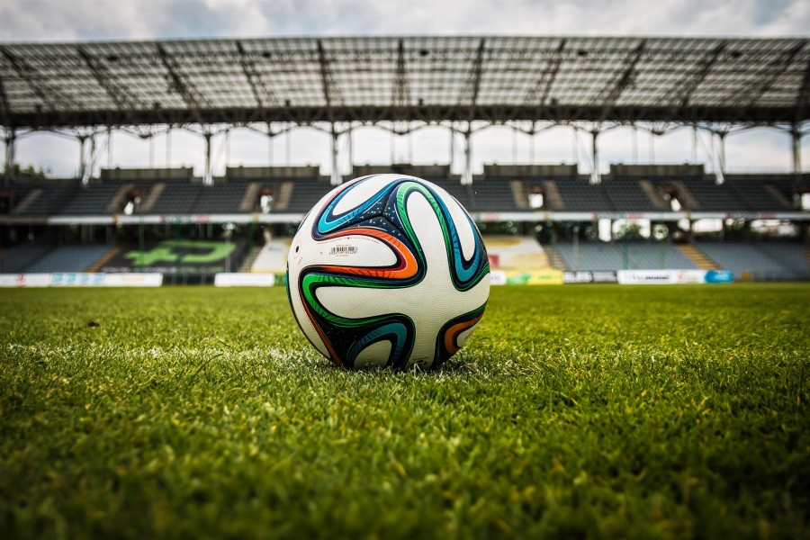 pelota, estadio, futbol, campo, juego, deporte, nadie, soccer, balon,