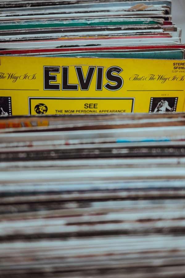 disco, vinilo, disqueria, antiguo, vintage, 80s, elvis, elvis presley, elegir, coleccion, musical, 70s,